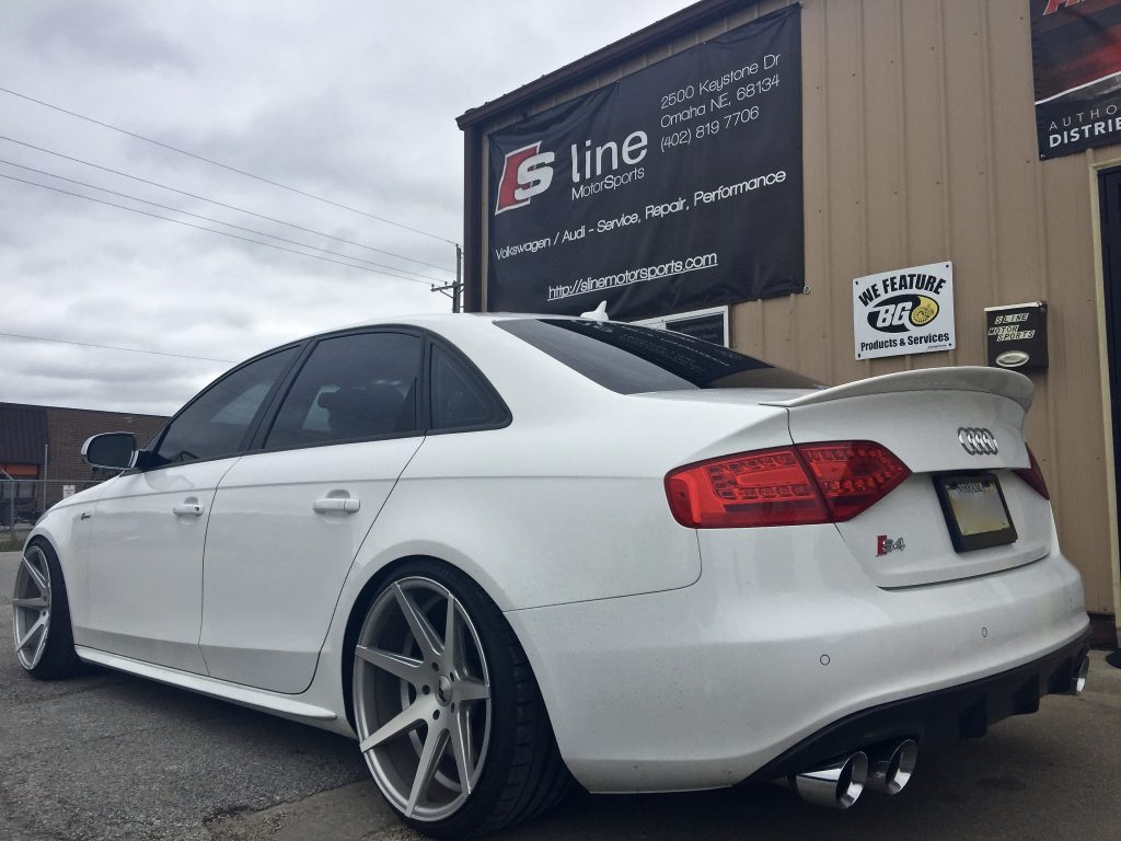 B8 s4 3 0t quattro awe track cat back w non res for Motor vehicle open on saturday