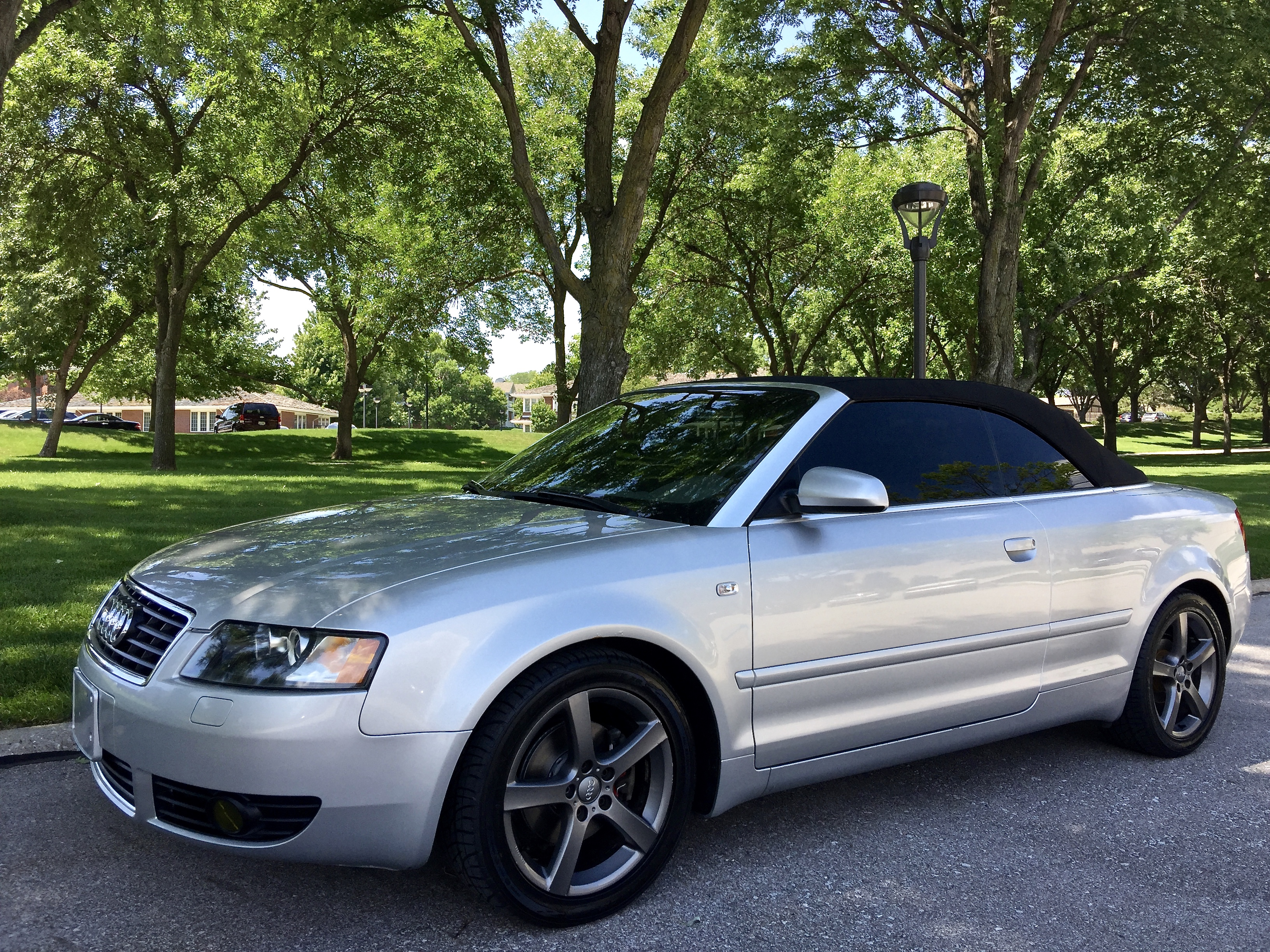 2003 audi a4 1 8t cvt convertible sold s line. Black Bedroom Furniture Sets. Home Design Ideas