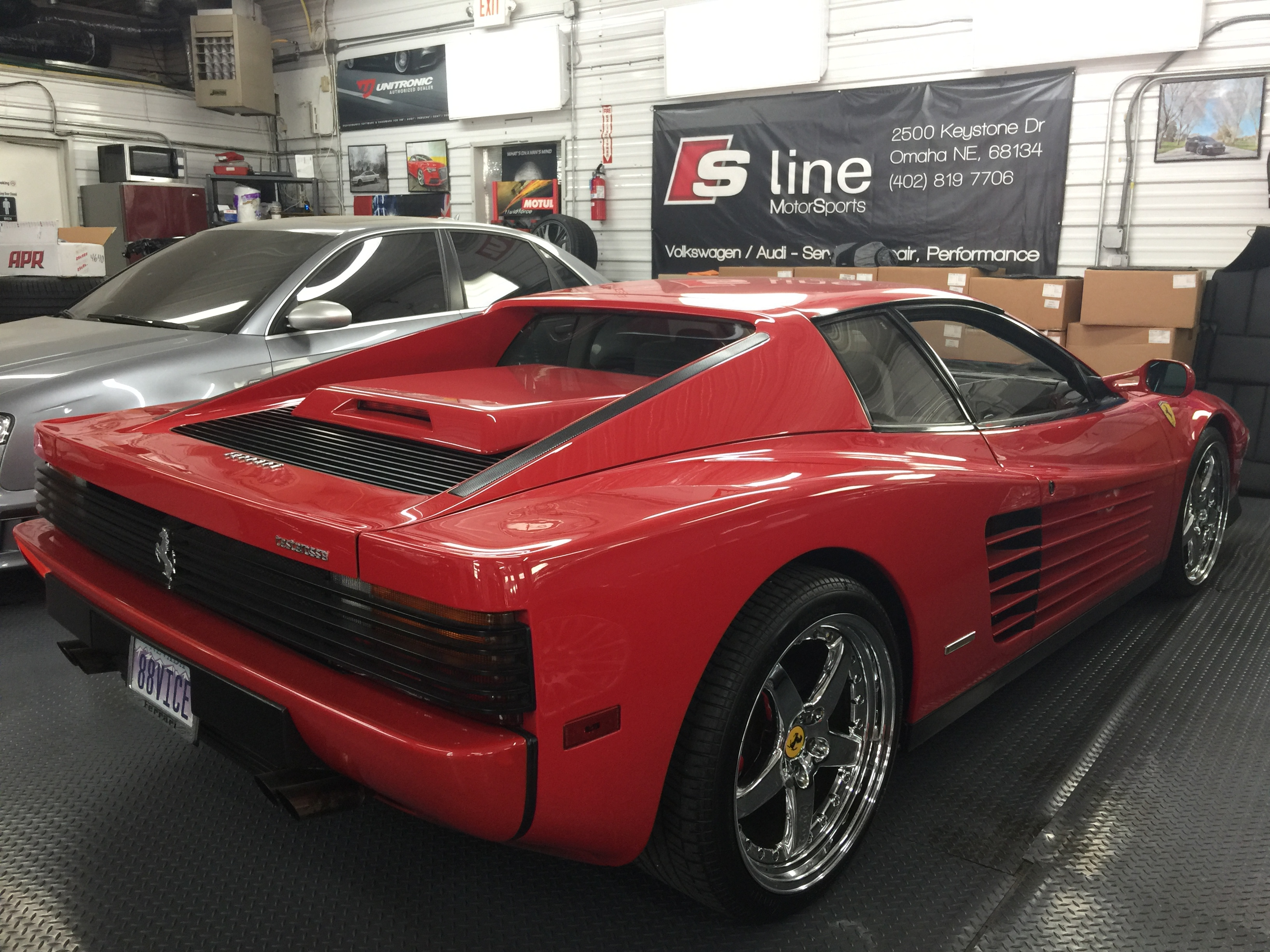 Cars For Sale Omaha Ne >> '88 Ferrari Testarossa - Fuel Leak Diagnosis - S Line Motorsports LLC